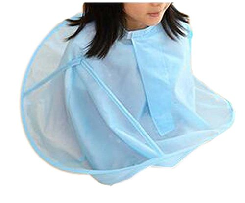 Kid Kid Hair Cutting Cape Baby Styling Salon Cape Imperméable, Bleu