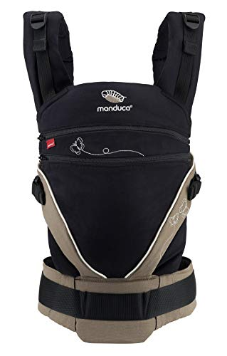 manduca XT Baby Carrier > Tutto in Uno < Marsupio Ergonomico e Flessibile con Seduta Regolabile per Neonati e Bambini fino a 20kg, Cotone Biologico (B