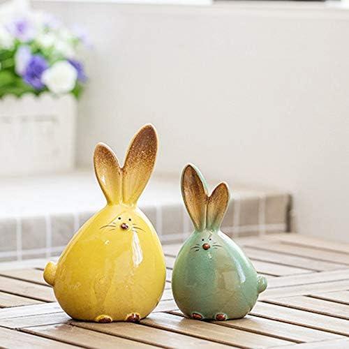 Ceramic rabbit figurines _image2