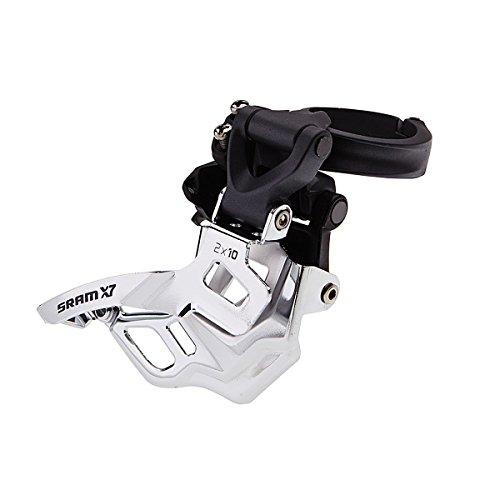 Sram MTB X7 3 x 10 High Clamp 31.8/34.9 Compact Bottom Pull - Desviador para Bicicletas, Color