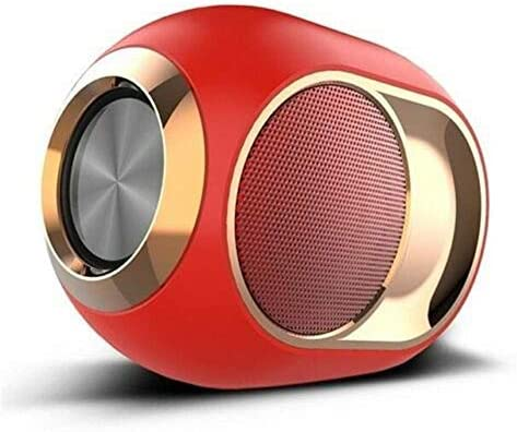 ALGG High-end wireless speaker, bass golden egg Bluetooth speaker, mini ultra portable waterproof Bluetooth wireless stereo speaker -108Db portable outdoor wireless speaker