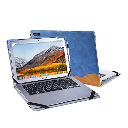 Berfea Stand Case Cover Compatible with Dell Inspiron Latitude Laptops Series 3000 5000 5402 7000 13 14 15 Inch Notebook Protective Case Sleeve,with Cooling Bracket