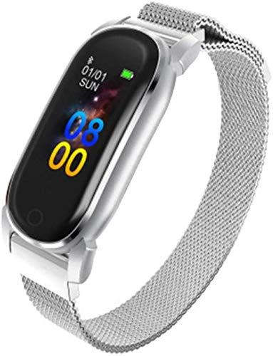 Pulsera inteligente para hombre con esfigmomanómetro de ritmo cardíaco con GPS, reloj inteligente con Bluetooth