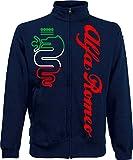 Generico Chaqueta Alfa Romeo World Rally Team Car STI Tuner Jacket azul navy XXL