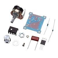 スピードコントロールスイッチインフィニティ可変速度規制モジュールDIYパーツ220V 500Wを規制する調光電圧レギュレータ温度