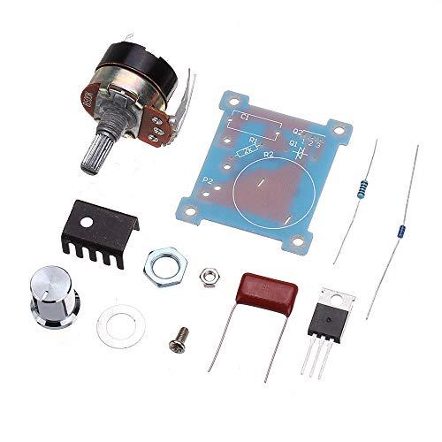 Módulo electrónico Oscurecimiento regulador de voltaje de regulación de temperatura Regulación de velocidad Interruptor de control de velocidad variable Infinity Módulo DIY parte 220V 500W Equipo elec