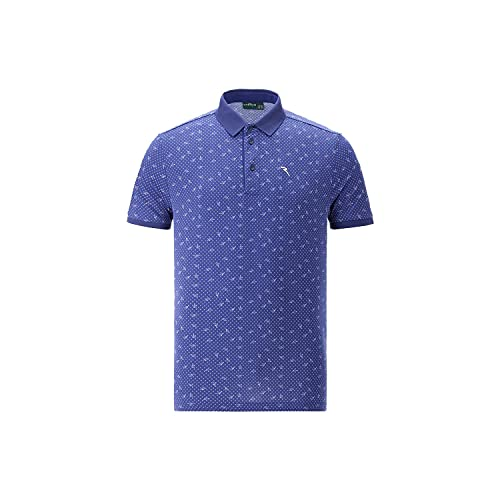 Chervo ASIER 64870 - Polo da golf, da uomo, colore: Blu, Blu scuro, 48
