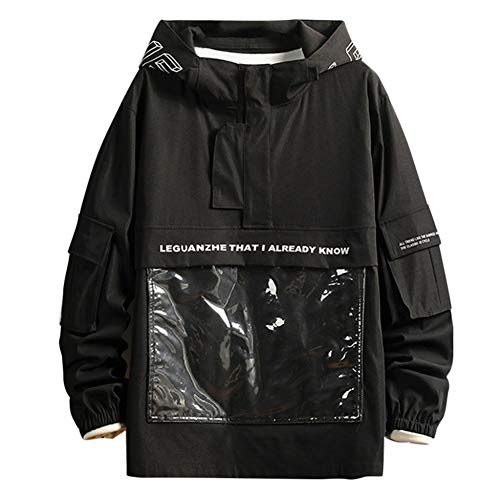 SHANGYI herenjack windbreaker capuchonjack heren street clothing mantel