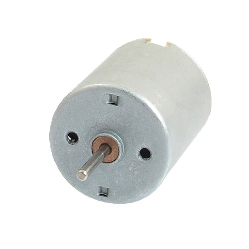 uxcell 12000 RPM 6V High Torque Cylinder Magnetic Electric Mini DC Motor