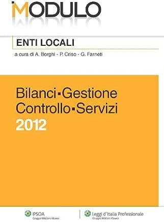 Modulo Enti Locali - Bilanci Gestione Controllo Servizi