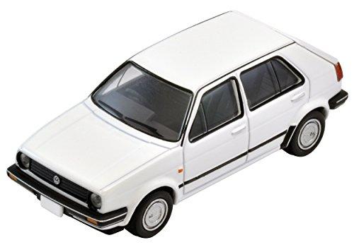 TomyTEC 271369–1/64 VW modèle de Golf 2, Accessoires pour Les chemins de Fer, 4 Portes, Blanc