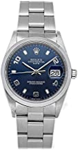 Rolex Oyster Perpetual Mechanical (Automatic) Blue Dial Mens Watch 15200 (Certified Pre-Owned)