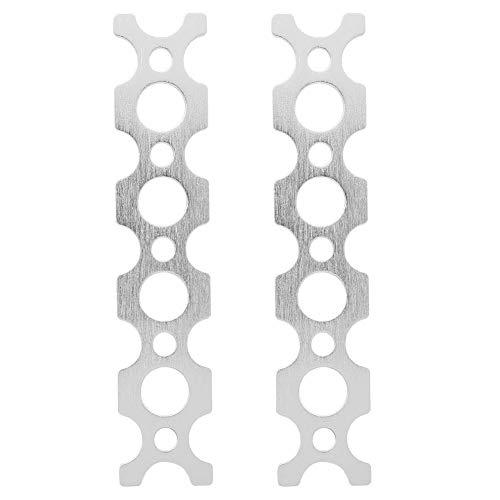 Flaches Gestänge mit 5 Löchern (2 Stück), Roboterstrukturteil, 7005 Aluminium, 64 x 64 x 2 mm/2,52 x 2,52 x 0,08 Zoll, Passend für Tetrixrobotics- und Pitsco-Roboter