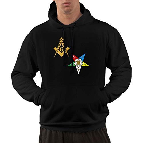 shenguang Freimaurer Eastern Star Herren Hoodie Vintage Hooded Sweatshirts