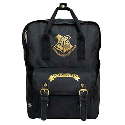 Harry Potter Premium Backpack Hogwarts Black Blue Studios Bags