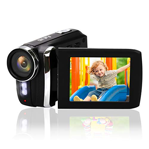 """Heegomn Digital Videocámara para Principiantes para niños/niños/Adolescentes, Mini cámara de Video 1080P HD /12MP/2.8"""" LCD/Batería Recargable/Zoom Digital 8X Camcorder"""