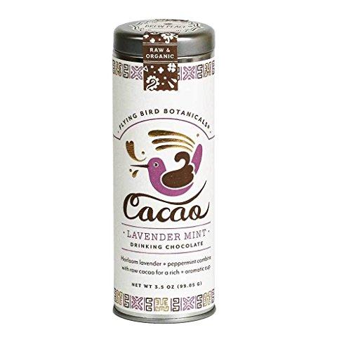 Flying Bird Botanicals - Organic Lavender Mint Drinking Chocolate, 3.5 oz