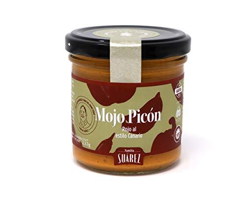 JR Suarez Mojo Picón Rojo - rote kanarische Sauce, 1er Pack (1 x 135 g)