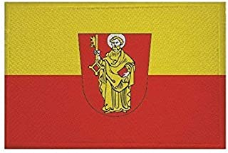 UB Aufnäher Trier Flagge/Fahne Aufbügler Patch 6 cm x 4 cm Neuware!!!