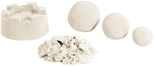 Playtastic Magic Sand: Kinetischer Sand, fein, beige, 1 kg (Super Sand)