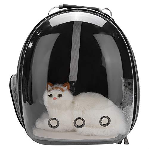 Fdit Zaino Traspirante Portatile da Viaggio per Animali Domestici Design di Capsula Spaziale Zaino Impermeabile Trasporto Zaini da Viaggio per Gatti e Cani di Piccola Taglia