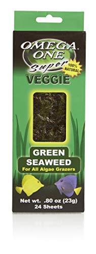 Omega One Super Veggie Green Seaweed, .8 oz., 24 sheets