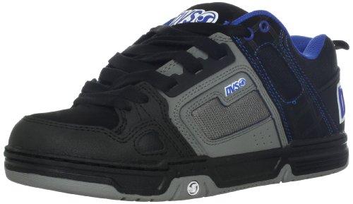 DVS Herren Commanche Sneaker, Schwarz (Black Grey Nubuck), 38 EU