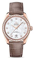 Best women luxury watch for small wrist - Rose Gold Diamonds Watch - best chronograph watch under 40mm for women