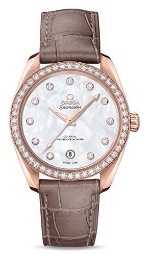 Omega Aqua Terra Seamaster Ladies Co-Axial Chronometer, Rose Gold Diamonds Watch
