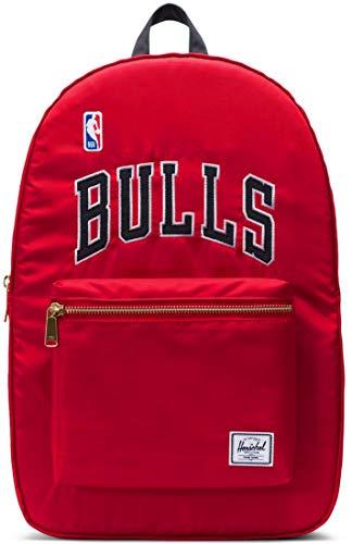 Herschel NBA Chicago Bulls Champions Rucksack, Größe Textil:M