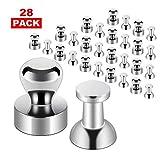 GEHUAY Mini Magnete Stark Set, 28 Stück Metall Magneten Neodym Magnete Eextrem Stark - Neodym...