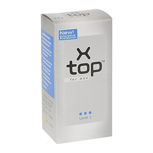 X Top for Men Pouch for Light Incontinence Level 1 (16 pcs)