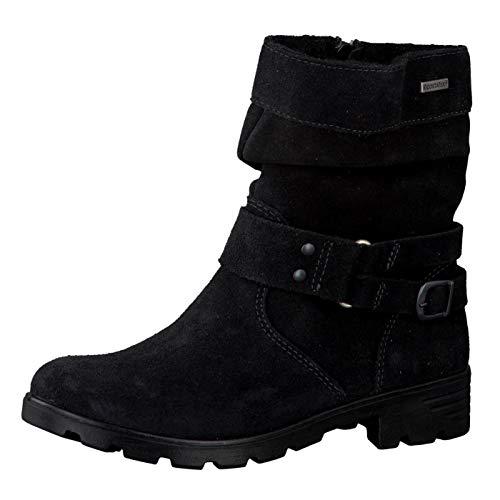 RICOSTA Jungen Benjamin Hohe Sneaker, Grau (MeteorOliv 466