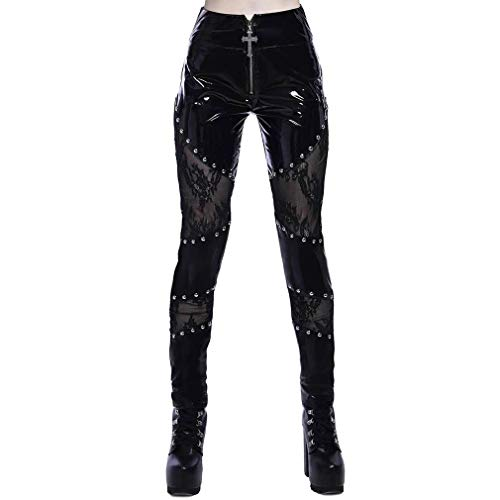 Killstar Lakleer Leggings - Abbey