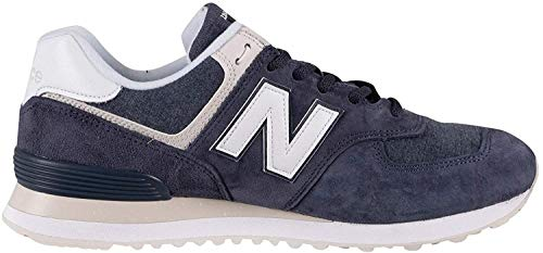 New Balance Herren 574v2 Sneaker, Blau (Navy SPZ), 44 EU