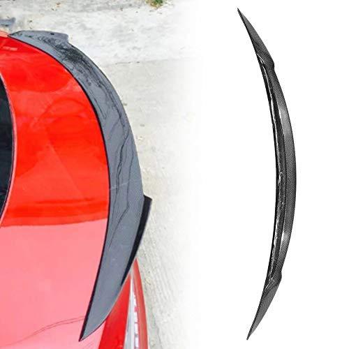 Carro DE Carbono DE Carbono DE Carbono DE Carbono DE Tierra Trasera DE Fiber Spoiler Wind MODIFICACIÓN DE Coches para Tesla Modelo S 2016-2018 Accesorios para automóviles