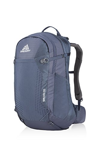 Gregory Mountain Products Men's Salvo 28 Liter Backpack, Smoke Blue, One Size
