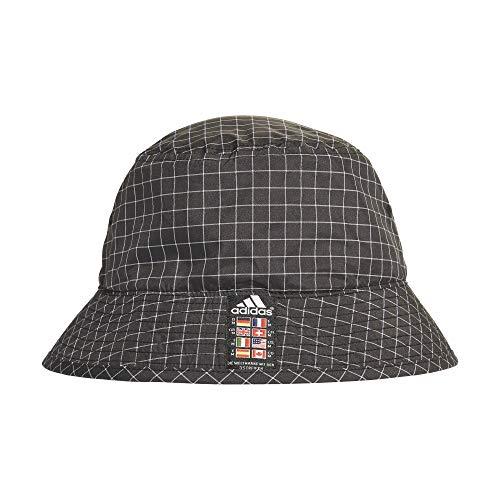 adidas Xplorer - Sombrero de pescador blanco/negro Talla única