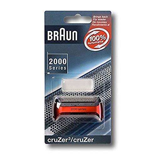 Braun Scherfolie metallic rot CruZer