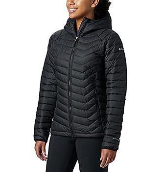 Columbia Women s Powder Lite Hooded Jacket Black Medium