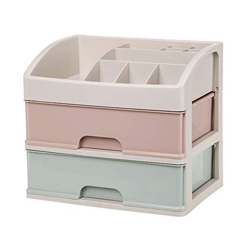 Boîte de rangement cosmétique,Boîte de présentation de parfum de cosmétiques de tiroir de cosmétiques de ménage multicouche transparent,Convient pour salle de bain, coiffeuse, chambre à coucher