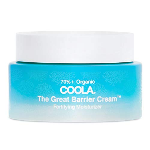 COOLA Organic The Great Barrier Cream Moisturizer, Skin Barrier Protection and Care, Apply before Sunscreen and Makeup, 1.5 Fl Oz