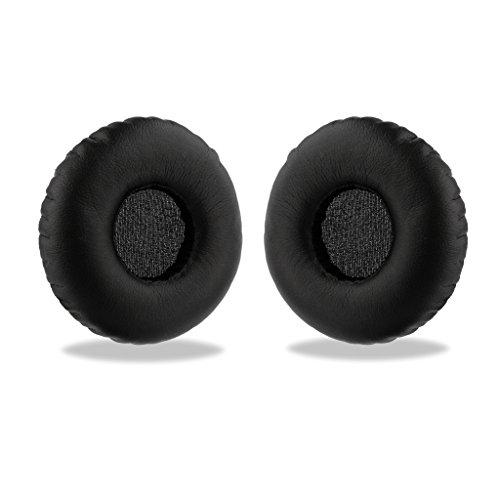 REYTID Ersatz Ohrpolster kompatibel mit AKG Y40 Y45BT Kopfhörer schwarz Kissen Kit - 1 Paar Ohrpolster