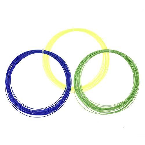 bestlle Profi Badminton-Saite der Nationalmannschaft Durable Repulsion Power Line Netz Zufällig