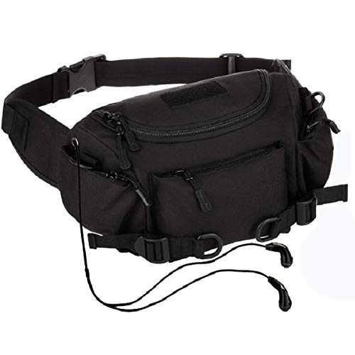 LarKoo Vita Sling Bag Spalla Cassa Pack tattico del Sacchetto della Vita Fanny Militare Sling Pack per Escursionismo Jogging Trekking Ciclismo