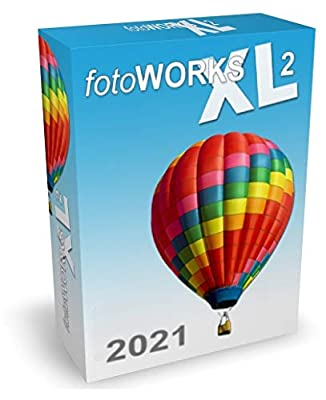FotoWorks XL 2021 Version - Photo Editing Software for Windows 10, 7 and 8 - Very easy to use