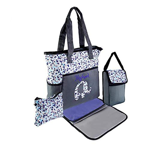 Monogram Gift Mommy Bag Personalized BABY Diaper Bag sets BABY BAG Custom Name