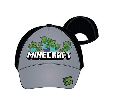Minecraft Mojang - Gorra de béisbol Negro/Azul 2 Mes
