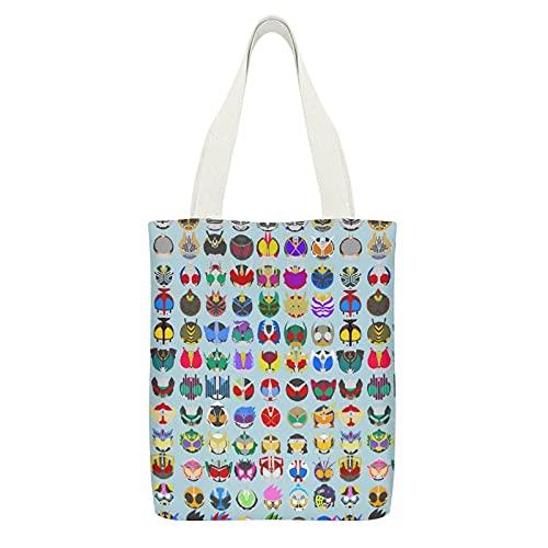 仮面ライダー エコバッグ 折りたたみ 人気 おしゃれ ショッピングバッグ 大容量 買い物袋 コンパクトバッグ 軽量 レジバッグ マイバッグ DANESI 防水 肩から提げれる 洗える 便利 極上 雑貨