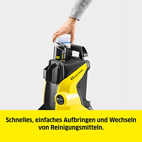 Kärcher Hochdruckreiniger K 5 Power Control Home: Clevere App-Unterstützung - die leistungsstarke Lösung für vielfältige Reinigungsaufgaben - inkl. Home-Kit - 6